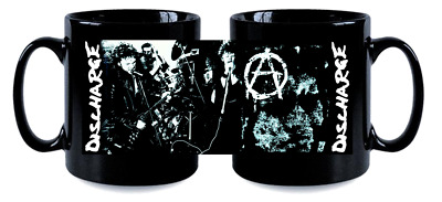 Discharge Blk Mug, Limited Rare New- Boxed