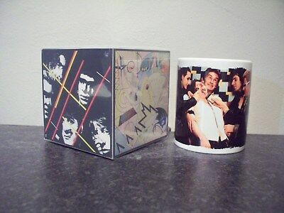 THE DAMNED music for pleasure gift set MUG, limited RARE BRAND NEW- BOXED
