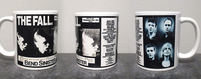 THE FALL bend sinister MUG, limited  RARE BRAND NEW- BOXED mark e smith