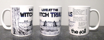 THE FALL live at the witch trials MUG, limited RARE BRAND NEW-BOXED mark e smith
