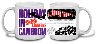 DEAD KENNEDYS MUG, limited  RARE BRAND NEW- BOXED holiday in cambodia