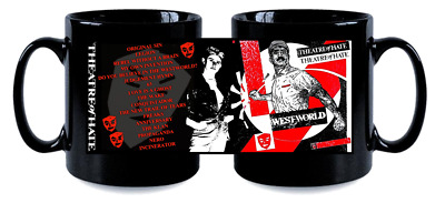 THEATRE OF HATE  BLK MUG, LIMITED RARE NEW- BOXED kirk brandon