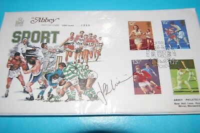 J P R Williams Signed Rugby/sports 1980 First Day Cover
