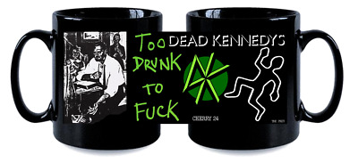 DEAD KENNEDYS  BLK MUG, LIMITED RARE NEW- BOXED to drunk to