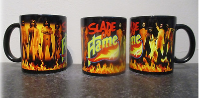 Slade In Flame Blk Mug, Limited Rare New- Boxed