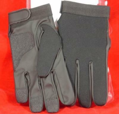 Armor Flex Black Police Duty Shooting Gloves Size XL Extra Large Made in USA