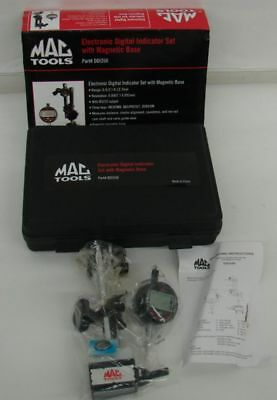 MAC Tools Mechanics/Machinist Digital Dial Indicator DDI350 & Magnet Base