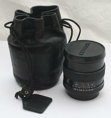 Vintage Carl Zeiss Distagon 2,8/28 T* 6519333 Camera Lens Contax Fit + Case