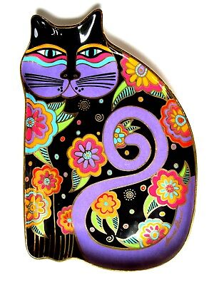 Royal Doulton ltd. ed. Laurel Burch 'Feline Fantasy' fine bone china plate