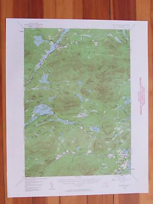 Blue Mountain New York 1960 Original Vintage USGS Topo Map