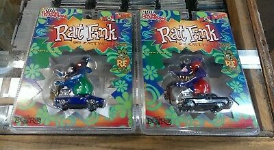 2 / Racing Champions Mod Rods - RAT FINK - in sealed package / die cast