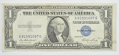 Godless - NO In God We Trust $1.00 Silver Certificate 1935 High Grade *647