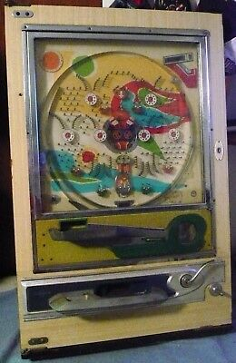 Vintage Nishijin Pachinko Machine For Parts Or Repair Look!