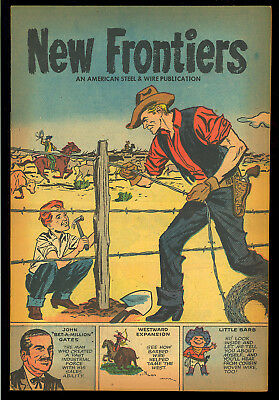 New Frontiers #nn Nice Unread Harvey File Copy Giveaway Comic 1958 VF-