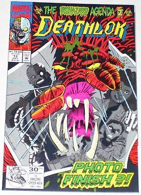Deathlok #13 from July 1992 VF+ to NM-