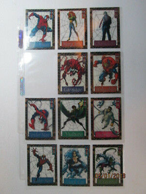 1994 Amazing Spider-Man - Suspended Animation Cards - Pick One