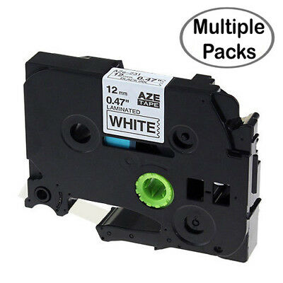Label Maker Tape, TZe-231 TZ-231 P-Touch Label Tape with Brother Multiple Packs
