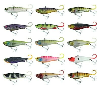65mm Zerek Fish Trap Soft Vibe Sinking Crankbait Fishing Lure