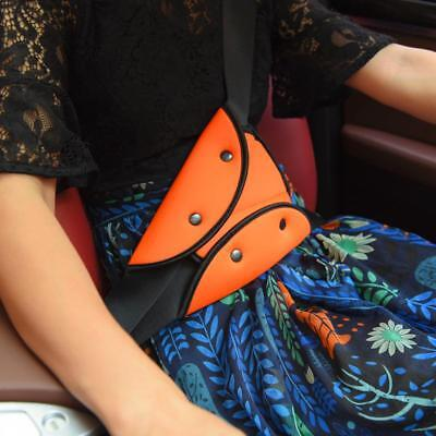 Comfortable Seat Belt Adjuster Car Children Safety Cover Harness Triangle Pad LC