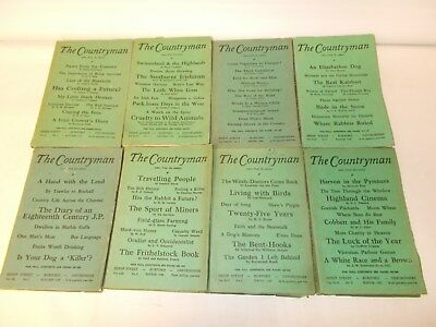 THE COUNTRYMAN.  44 Copies.  1940s  1950's  (Hol)