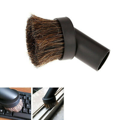 Keyboard Horsehair Bristle 32mm Brush Head Vacuum Dust Brush Cleaner Brush