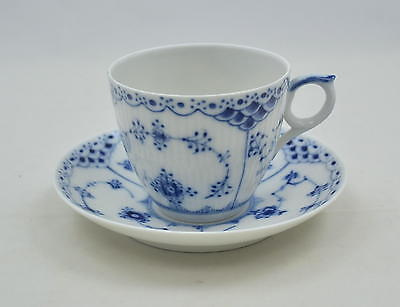 Royal Copenhagen Halbspitze Blue fluted half lace - Kaffeetasse coffee-cup -