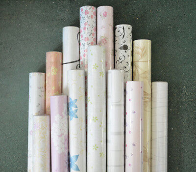 3D Wall Paper PVC Self adhesive  Floral Wall Sticker Home Decor