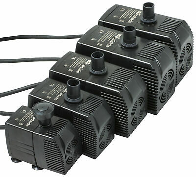 Woodside Submersible 600LPH – 3000LPH Pond Fountain Water Feature Pump