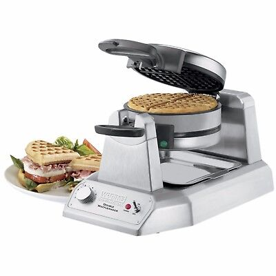 NEW Waring Commercial WWD200 Commercial Double Wafflemaker  waffle maker