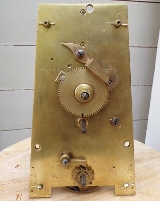 """Antique Fusee Clock """"a"""" Frame Movement Complete"""
