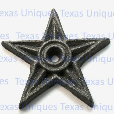 4 Inch Cast Iron Architectural Star ST4