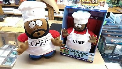 South Park DANCING CHEF, Battery Op Works Great & stuffed doll