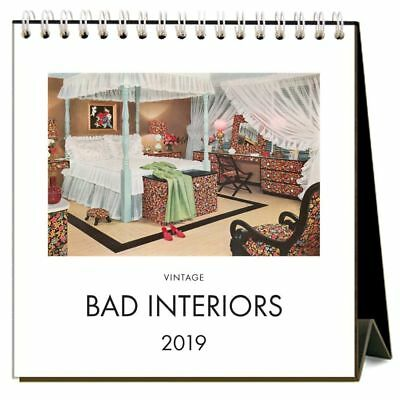 Bad Interiors  Easel Desk Calendar, Architecture | Design by Found Image Press