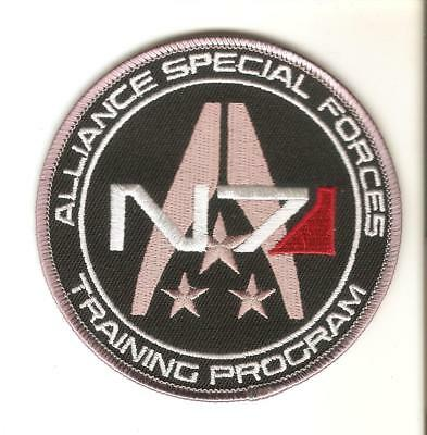 + MASS EFFECT Aufnäher Patch N7 Alliance Special Forces Training Program