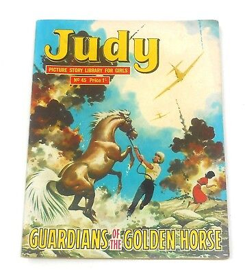 #45 Judy Picture Library Comics - GUARDIANS OF THE GOLDEN HORSE - 1966