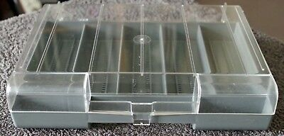 Jessops 35mm Slide Storage Box with Dividers and Labels - Transparency Storage