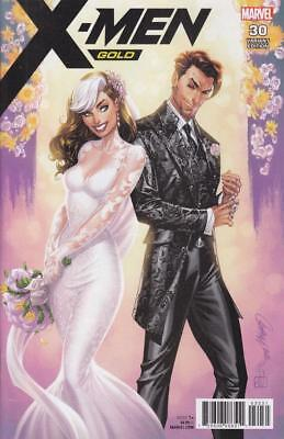 X-Men Gold #30 J Scott Campbell Classified Unbagged Variant Retailer Incentive