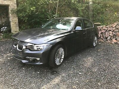 2012 Bmw 320D Luxury Grey Spares Or Repair Damaged Salvage Not Recorded