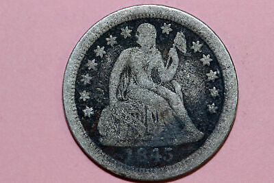One Better Date 1845-O Seated Liberty Dime that Grades NET Very Good (SLD647)