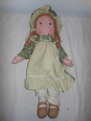 VINTAGE TOY - HOLLY HOBBIE RAGE DOLL AMY 65 cm  - KNICKERBOCKER