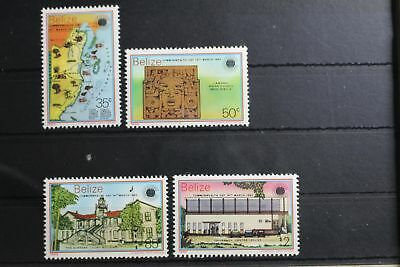 Belize 698-701 ** postfrisch Commonwealth Tag #RU906