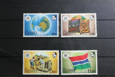Gambia 457-460 ** postfrisch Commonwealth Tag #RU913