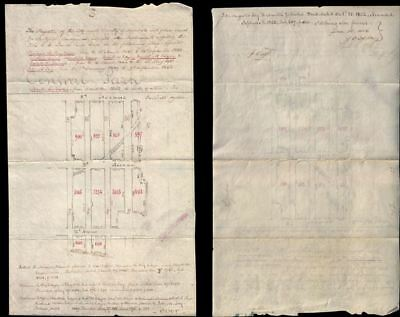 1856 Cadastral Survey of Upper West Side (85th - 89th Streets), New York City