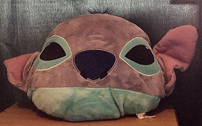 Disney Store LILO & Stitch Stitch Face Plush Cushion