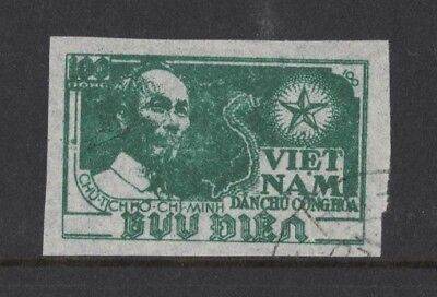 1951 Vietnam Ho Chi Minh SG N 4 fine used imperf.