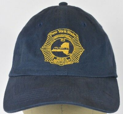 d1ac597f2 NAVY BLUE NYPD New York Police Dep Embroidered Baseball Hat Cap ...