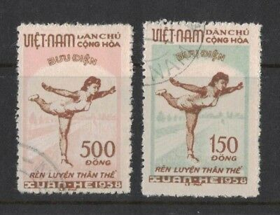 1957 Vietnam Physical Education SG N 78/9 fine used set