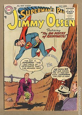 Superman's Pal Jimmy Olsen #6 1955 GD 2.0