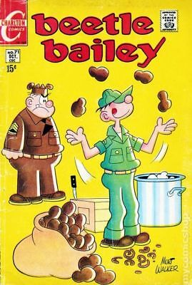 Beetle Bailey (Dell/Charlton/Gold Key/King) #71A 1969 GD/VG 3.0 Stock Image