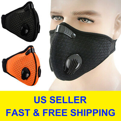 Updated Air Purifying Face Mask Cover Anti Dust Multi Layer Mouth Muffle Filte